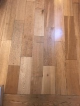 Solid wood flooring replacement